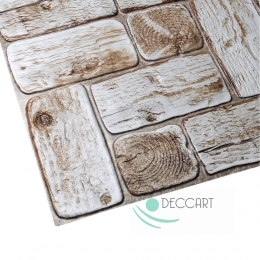 3D PCV Light Wood Wall Panels
