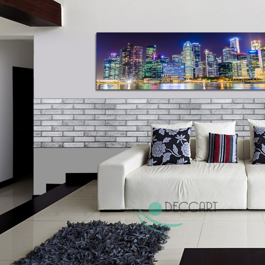 3D PCV Brick Light Wall Panels