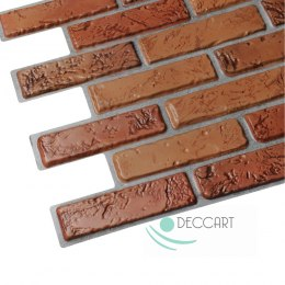 3D PVC Brick Natural Wall Panels