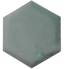 Upholstered Satin Panels Hexagon 2227