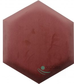 Upholstered Satin Panels Hexagon 2257
