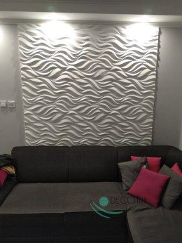 FLAMES- 3D Wall Panels 60x60