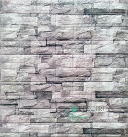 3D Wall Panels Gray Natural Stone C13